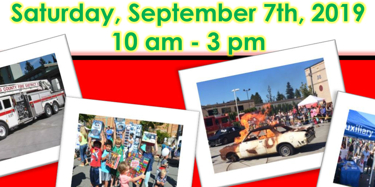 FREE 'Kids' Day' will be this Saturday, Sept. 7 at the Burien Fire Station