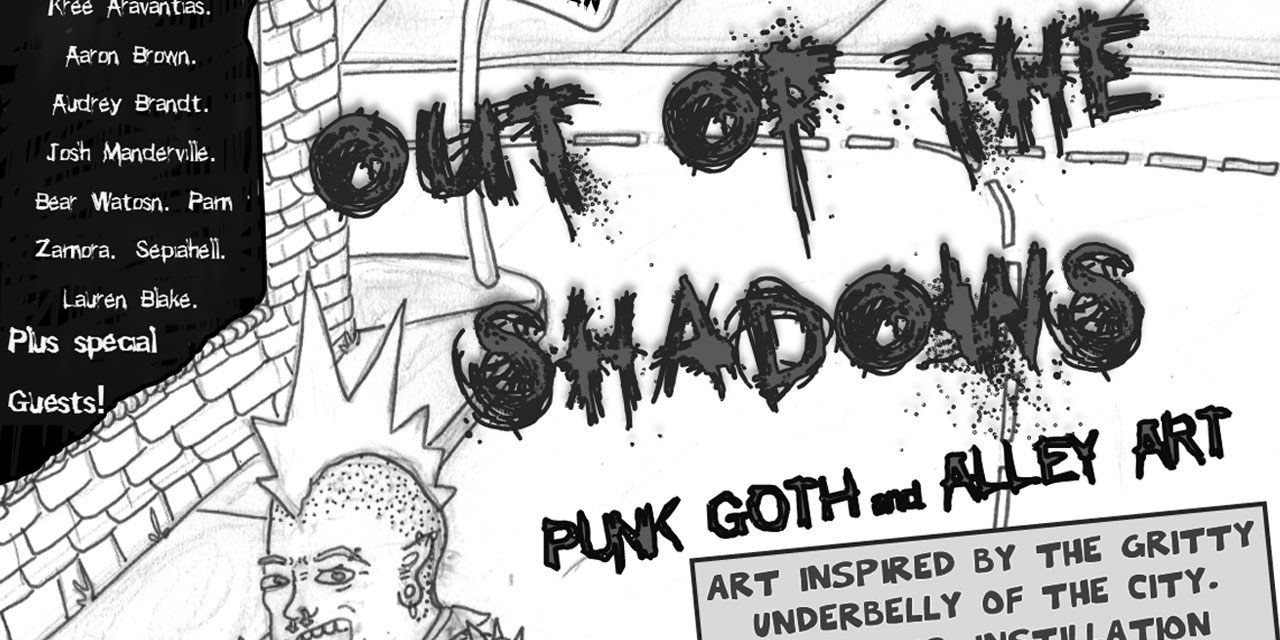 Punk, goth & alley art will come 'Out of the Shadows' in Burien on Friday, Sept. 6