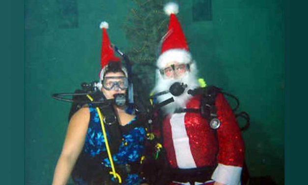 Scuba Santa offers Big Savings everyday at TL Sea Diving's Christmas Sale