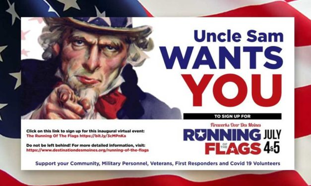 REMINDER: Celebrate the 4th by joining the 'Running of The Flags' this weekend